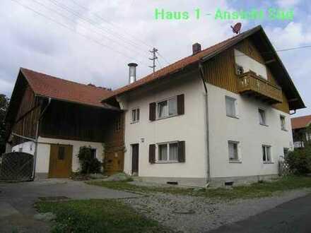 Bauernhaus 5 km westlich von Schongau in Oberbayern