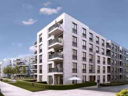PANDION 5 FREUNDE - Komfortable 3-Zimmer-Wohnung mit großem Bad und Südbalkon - Erstbezug