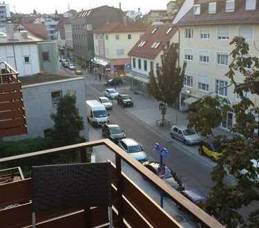 """""""Nett möbliertes, helles 1-Zi. Single-Appart. mit EBK und Balkon in zentraler Lage von Feuerbach"""""""