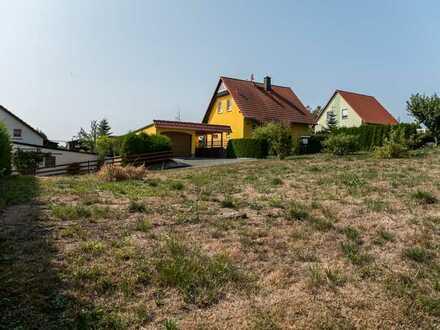 Grundstück in sonniger Wohnlage am Ortsrand