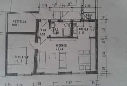 Schöne, sehr ruhige 2-Zimmer Wohnung in Ladenburg nähe Marktplatz mit Terrasse