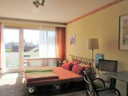 möblierte 1-Zimmerwohnung mit Wlan, TV, Balkon, Küche, Du/WC, ab 1 Monat mietbar