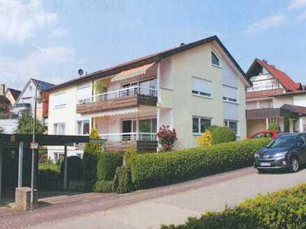 Erstbezug nach Sanierung: 2-Zimmer-Wohnung mit EBK und Terrasse in Schönaich