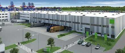 Neubau-Logistikflächen in Hamburg-Altenwerder