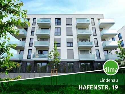 ERSTBEZUG | HAFENTOR AHOI, barrierefrei, Südwest-Eckbalkon, Duschbad+Fenster, TG-SP, Fußbodenhz.