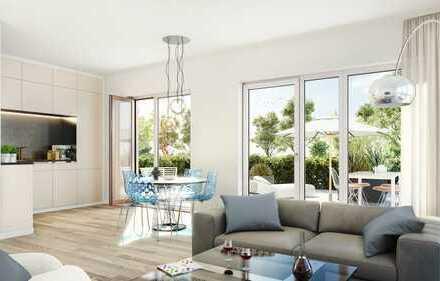 PANDION PENTA 2.BA - Großzügige Gartenwohnung mit zwei Bädern und Hauswirtschaftsraum