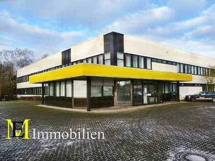 Ehemals BVB-Megastore: Vielseitig nutzbare Gewerbehalle mit großen Büro- und Verwaltungsflächen