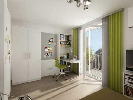 Schön möbliertes Apartment mit Balkon