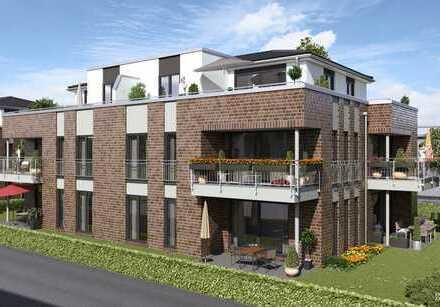 Neubau, Erstbezug: Moderne 2,5 Zimmer-Wohnung in Eversten mit Einbauküche und Dachterrasse
