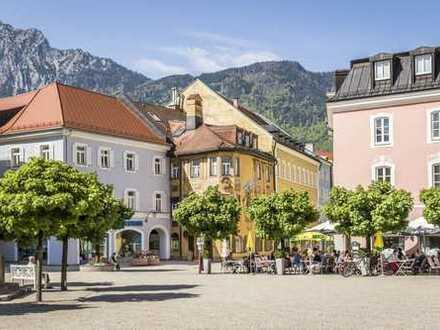 Solvent vermietete Gewerbeimmobilie für Kapitalanleger in Bad Reichenhall Zentrum