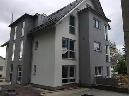 Erstbezug mit Einbauküche und großer Terrasse: exklusive 3,5-Zimmer-EG-Wohnung in Backnang