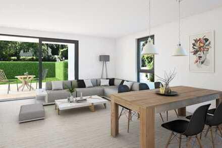 Helle EG-Wohnung mit großem Gartenanteil