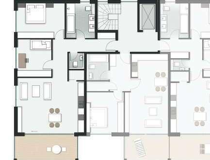 ::: Neubau - 3 Zimmer Wohnung in begehrter Lage :::