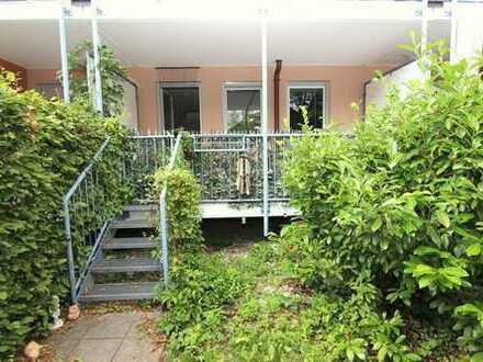 München-Pasing: Kleines Gartenparadies in zentraler Lage - Sonnige 3-Zimmer-Whg. / Balkon u.Garten