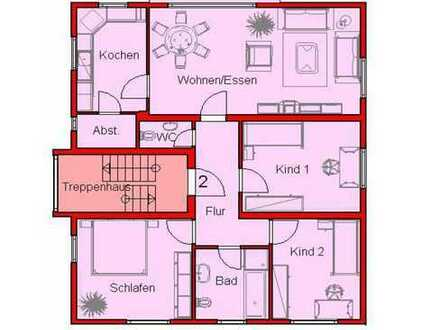 Familiendomizil - 4ZKB - Balkon - 2x Stellplatz - Grünfläche