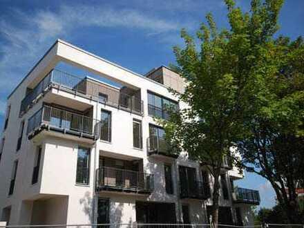 * moderne Wohnung im Stadtzentrum mit großem Balkon *