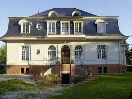 Herrschaftliche 5-Zimmer-Wohnung mit Balkon & Garten nähe Leipzig