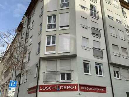 Zum Verkauf steht ein praktisch geschnittener vermieteter Eckladen in Leipzig Gohlis
