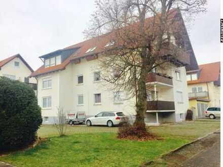 Attraktive 3-Zimmer Wohnung mit Stellplatz in Dillingen