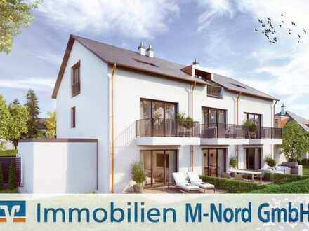 Neubau: Exklusives Stadthaus mit hochwertiger Ausstattung am Fasaneriesee in München-Feldmoching