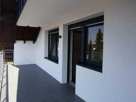 Großzügige möblierte 2-Zimmer-DG-Wohnung mit Südbalkon und Kellerraum in Dreifamilienhaus