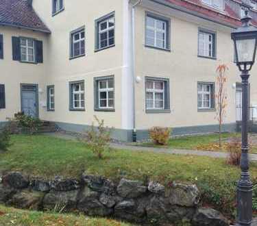 3- Zimmer Erdgeschoss- Wohnung mit Terrasse und Garten; Modernes Outfit trifft Denkmalcharme