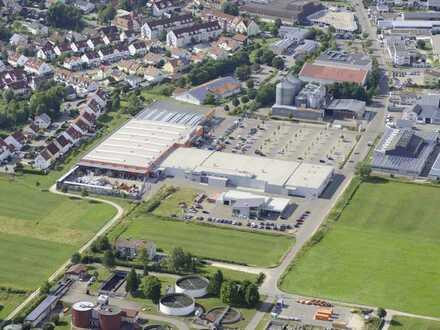 ca. 200m² Bürofläche im 1.Obergeschoss des Fachmarktzentrums in Giengen