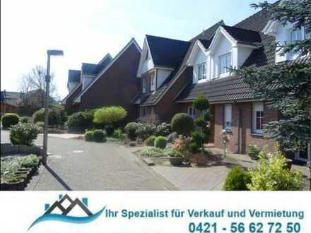 Delmenhorst - Dwoberg: Anleger-/Spielstraße: Reihenh., gr. Wohn-Essbereich mit Terrassenzug., 4 Zi.