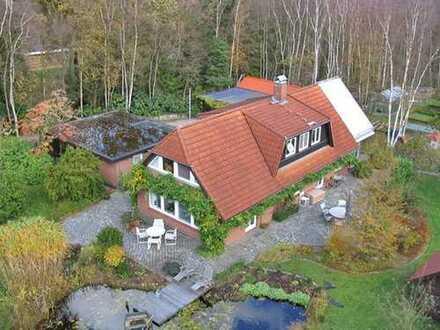 immo-schramm.de: Ihr Landsitz: hochwertiges Wohnhaus auf sehr schönem Grundstück bei Gnarrenburg