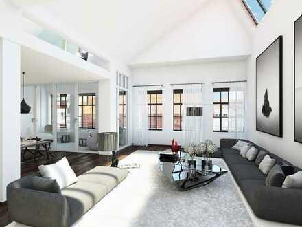 Einzigartige Dachgeschosswohnung mit Panorama-Dachfenster !