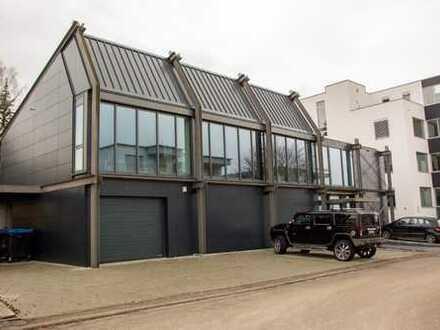 Repräsentatives Bürohaus in Leonberg-Warmbronn, große Garage + großes Lager