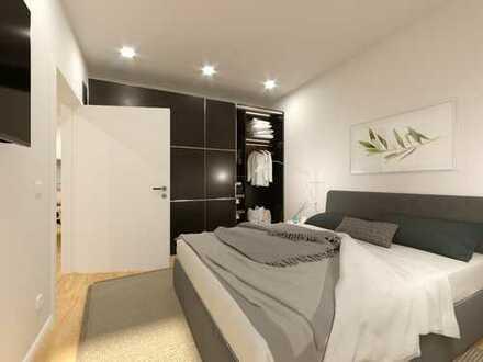 Zentrum und Idylle! 2-Zimmer-Wohnung mit Balkon in zentraler Lage von Memmingen