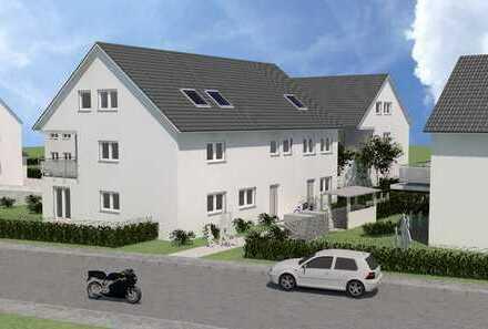 Neubau einer Doppelhaushälfte mit Garten, Terrasse, Tiefgarage in Bergheim - EH 55 -schlüsselfertig