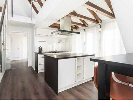 Kernsanierte 3-Zimmer Maisonette Wohnung zum Verlieben