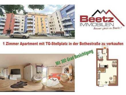 Gut vermietetes 1Zimmer Apartment in der Bothestraße zu verkaufen