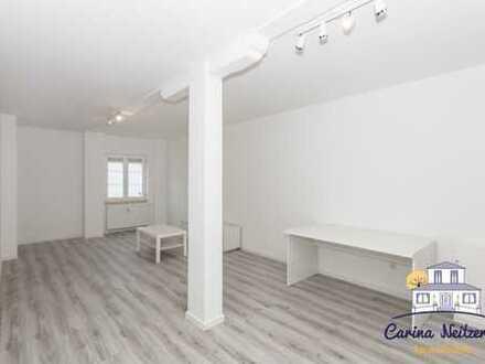 Perfekt für Singles: 2 Zimmer mit eigener Terrasse.