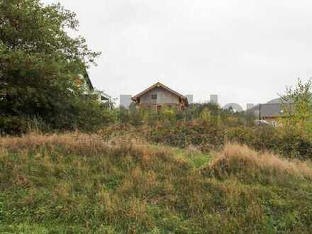 Voll erschlossenes Grundstück mit Weitblick und zahlreichen Bebauungsmöglichkeiten