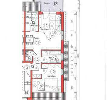 Neubau! 2-Zimmer-Eigentumswohnung in Rodgau-Jügesheim