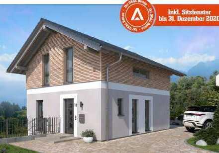 Unser Designhaus des Monats mit Sitzfenster und Rheinblick