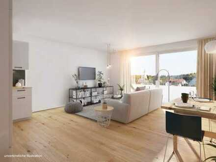 Ideal für Jung und Alt! Großer Wohn-Essbereich mit Terrasse und Gartenanteilt!