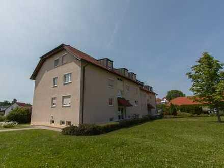 Gemütliche 2-Zimmer Mietwohnung in herrlicher Wohnlage von Bad Rodach+Balkon+Keller+EBK!