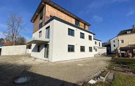 ... AIGNER - moderne gehobene 4-Zi-EG Neubauwohnung mit großer Terrasse und Garten sowie EBK ...