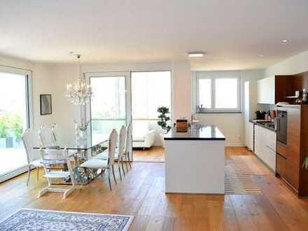 Luxuriöse - Barrierefreie 4-Zimmer-Penthouse-Wohnung vor den Toren von Augsburg