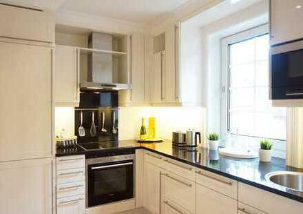 Schmuckstück: Exklusive, möblierte 2-Zimmer-Wohnung in Hamburg-Othmarschen