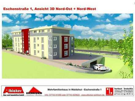 Mietwohnung -Erstbezug : 2 Zimmerwohnung 1. Obergeschoss mit Lift