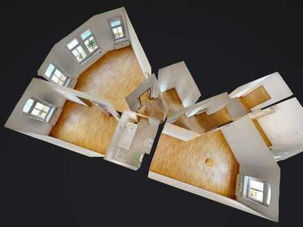 Sehr helle und zentral gelegene 3 Zimmer-Wohnung in Radeberg