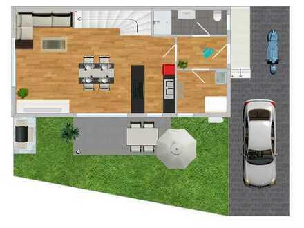 VHB! Neubau: Moderne und hochwertige Haushälfte direkt vom Bauherrn