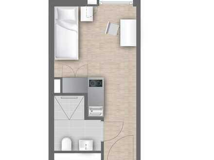 Erstbezug-Neubau mit EBK und BETT und INTERNET: 1-Zimmer-Wohnung in Pasing