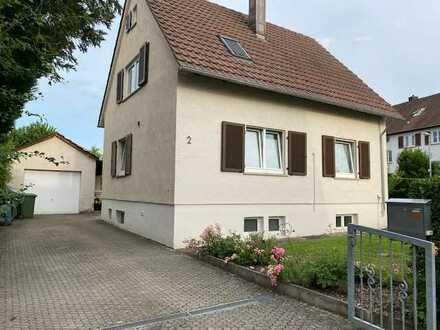 """Freistehendes Einfamilienhaus im Stadtteil """"Sand"""" in Bietigheim"""