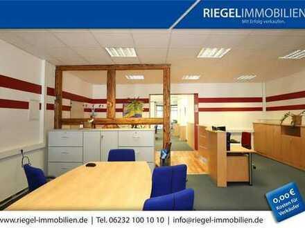 Sie hier? Wir auch! Zentrum 220,00 m² Repräsentative Büroetage/ Dachterrasse, PKW- Stellplatz